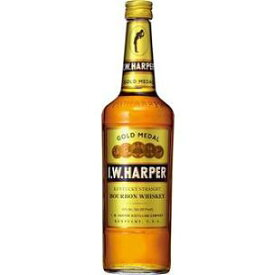【送料無料】キリンビール I.Wハーパーゴールドメダル 40度 700ml瓶 1ケース12本
