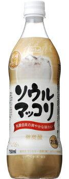 【サントリー酒類】S ソウルマッコリ 750mlPET 1ケース15本