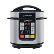 ショップジャパン(ShopJapan)クッキングプロCKP-WS01電気圧力鍋圧力鍋なべかんたんTV通販正規品
