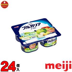 明治 ブルガリアヨーグルト 檸檬ミックス 75g×4個×6セット(合計24個)(食べるタイプ)(クール便)
