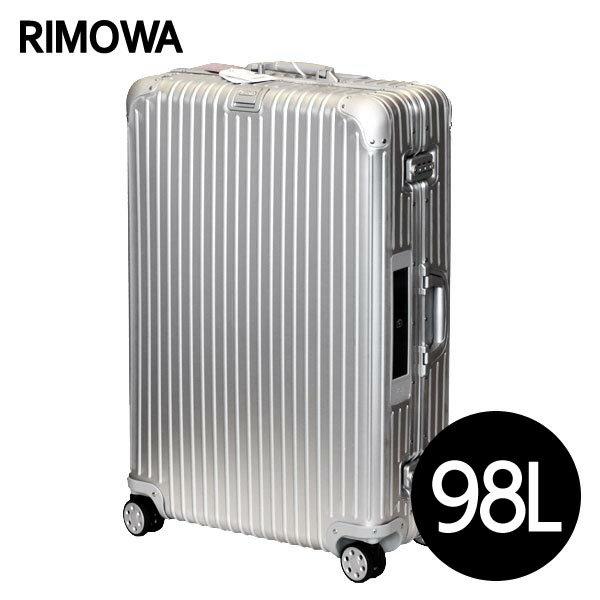 リモワ RIMOWA トパーズ 98L シルバー E-Tag TOPAS ELECTRONIC TAG スーツケース 924.77.00.5