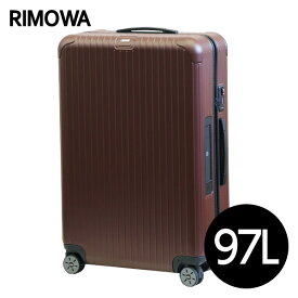 リモワ RIMOWA サルサ 97L カルモナレッド E-Tag LIMBO ELECTRONIC TAG マルチホイール スーツケース 811.77.14.5【送料無料】※北海道・沖縄・離島を除く