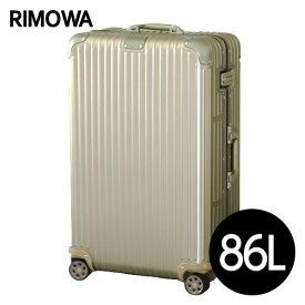 リモワ RIMOWA オリジナル チェックインL 86L チタニウム ORIGINAL Check-In L スーツケース 925.73.03.4 【送料無料】※北海道・沖縄・離島を除く