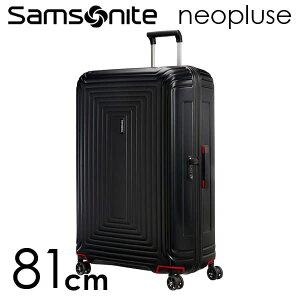 『期間限定ポイント10倍』サムソナイト ネオパルス スピナー 81cm マットブラック Samsonite Neopulse Spinner 124L 65756-4386【送料無料】