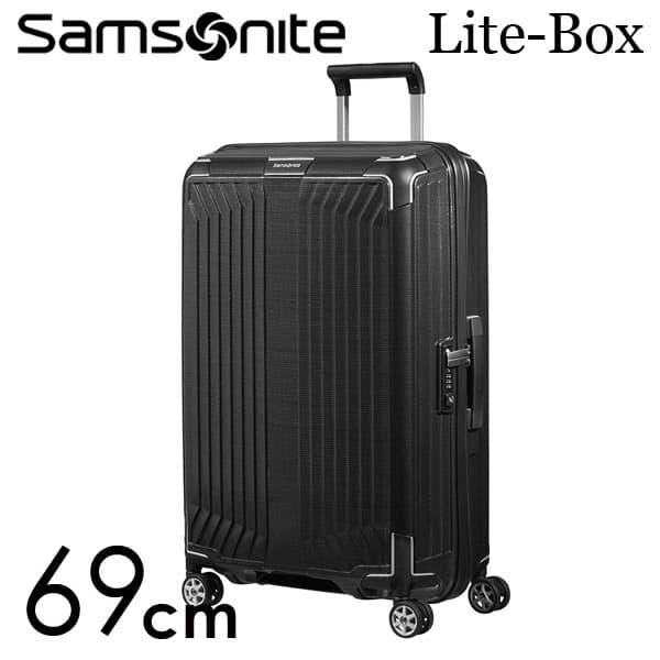 サムソナイト ライトボックス スピナー 69cm ブラック Samsonite Lite-Box Spinner 75L 79299【送料無料】※北海道・沖縄・離島を除く