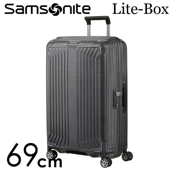 サムソナイト ライトボックス スピナー 69cm エクリプスグレー Samsonite Lite-Box Spinner 75L 79299【送料無料】※北海道・沖縄・離島を除く