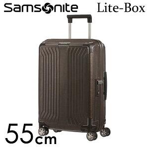 『期間限定ポイント5倍』サムソナイト ライトボックス スピナー 55cm ウォールナット Samsonite Lite-Box Spinner 38L 79297-1902【送料無料】