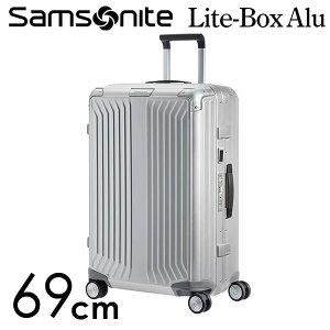 『期間限定ポイント5倍』サムソナイト ライトボックス アル スピナー 69cm アルミニウム Samsonite Lite Box Alu Spinner 71L 122706-1004【送料無料】※北海道・沖縄・離島を除く