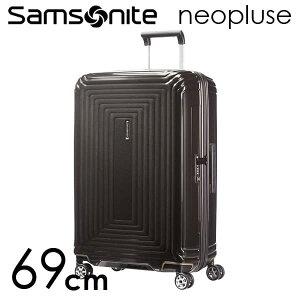 『期間限定ポイント10倍』サムソナイト ネオパルス スピナー 69cm メタリックブラック Samsonite Neopulse Spinner 74L 65753-2368【送料無料】