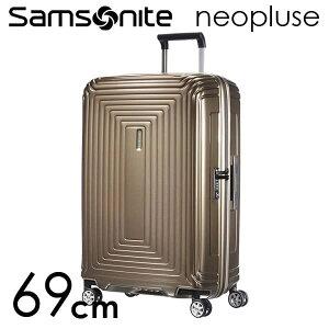 『期間限定ポイント5倍』サムソナイト ネオパルス スピナー 69cm メタリックサンド Samsonite Neopulse Spinner 74L 65753-4535【送料無料】
