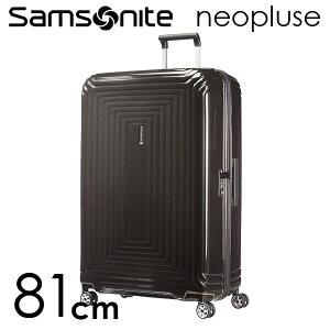 『期間限定ポイント10倍』サムソナイト ネオパルス スピナー 81cm メタリックブラック Samsonite Neopulse Spinner 124L 65756-2368【送料無料】