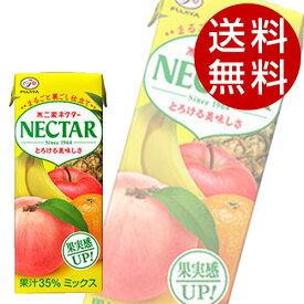不二家 ネクター ミックス(200ml×48本入)【送料無料】