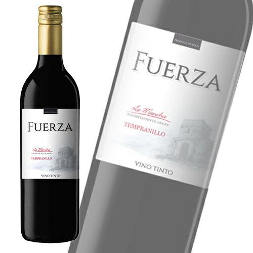 【スペイン直輸入】フエルザ・ティント 赤ワイン Fuerza Vino 1箱(12本) 【送料無料】※北海道・沖縄・離島を除く