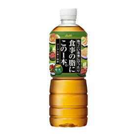 [19日20時〜全品対象エントリー5倍]アサヒ 食事の脂にこの1本。緑茶ブレンド 600mlPET×24本<※48本まで1配送可>【4〜5営業日以内に出荷】[税別]