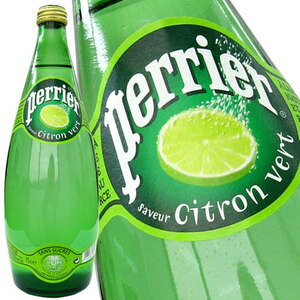 ペリエ[perrier] ライム [炭酸水] 750mlビン 1ケース12本入[水・ミネラルウォーター]炭酸入りミネラルウォーター[一部箱汚れ等ある為訳あり]1ケース1配送でお届け[税別]