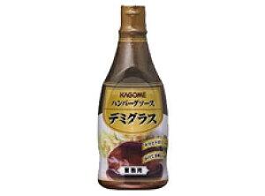 カゴメ)ハンバーグソースデミグラス500g【チューボー用品館】