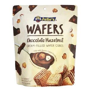 ジュリーズ キューブウエハース ヘーゼルナッツチョコレート 60g×12袋[賞味期限:4ヶ月以上]同一商品のみ2ケース毎に送料がかかります【4月3日出荷開始】