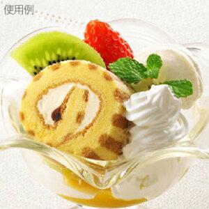 税率8% テーブルマーク)PSロールケーキ(カスタード)約200g【業務用食品館 冷凍】