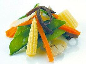 税率8% 神栄)中華野菜ミックス500g【業務用食品館 冷凍】