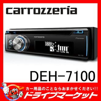 用支持DEH-7100 CD/Bluetooth/USB的甲板日语表示舒适的操纵♪PIONEER paioniakarottsueria