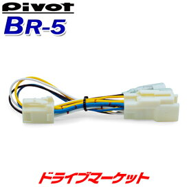 【ドーーン!と全品超特価DM祭】 BR-5 ピボット スロットルコントローラー ブレーキハーネス 3-driveシリーズ専用 スロコン PIVOT【取寄商品】