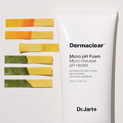【公式】Dr.Jart+ ダーマクリア マイクロ pH フォーム (120mL) 【Dr.Jart+】【ドクタージャルト】【drjart】【正規品】韓国コスメ 弱酸性 クレンジング 洗顔料