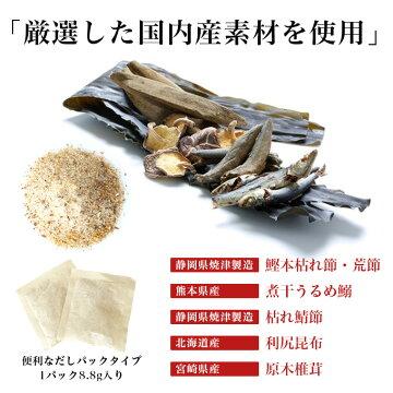 国内産素材使用