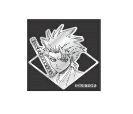 デコメタ BLEACHブリーチBLEACH02 日番谷【クリックポスト対応】