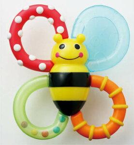 【おもちゃ/歯固め/赤ちゃん/出産祝い/sassy】サッシー バンブル・バイツ