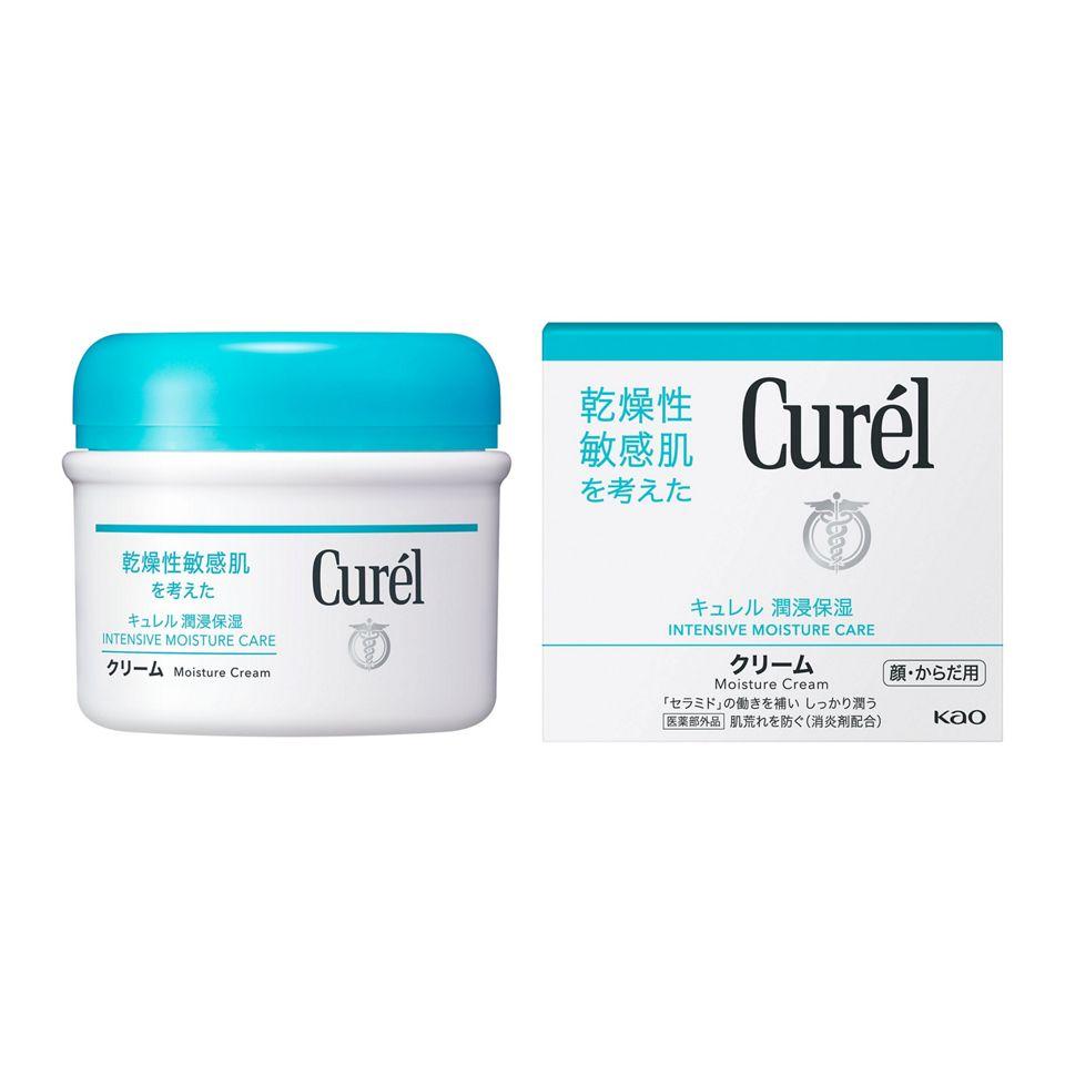 キュレル 薬用クリームジャー 90g【医薬部外品】【花王株式会社】
