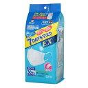 フィッティ 7DAYSマスクEX エコノミーパックケース付 ふつう ホワイト 個包装 30枚入【玉川衛材】【4901957214310】