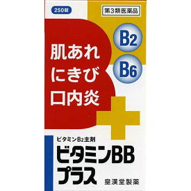 【第3類医薬品】ビタミンBBプラス「クニヒロ」 250錠【皇漢堂製薬】【4987343081308】【納期:10日程度】
