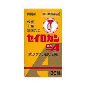 【第2類医薬品】《大幸薬品》セイロガン糖衣A 36錠 (下痢止め)