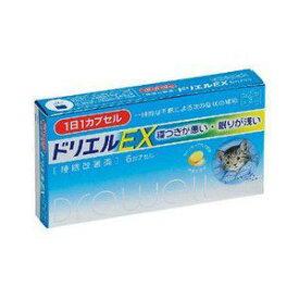 【指定第2類医薬品】《エスエス製薬》 ドリエルEX 6カプセル (睡眠改善薬)