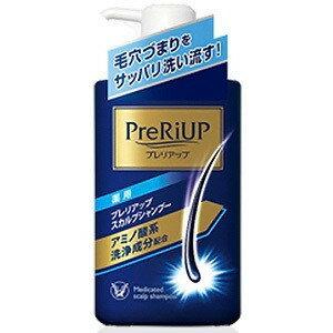 【医薬部外品】《大正製薬》 プレリアップ スカルプシャンプー 400mL (薬用シャンプー)