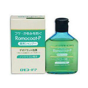 【医薬部外品】《全薬工業》 ロモコートP 薬用シャンプー 180ml (フケ用ノンシリコンシャンプー)