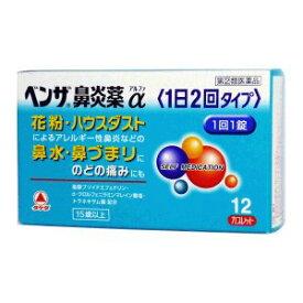【指定第2類医薬品】《武田薬品》 ベンザ鼻炎薬α 1日2回タイプ 12カプレット