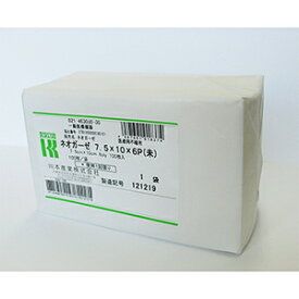 《カワモト》 ネオガーゼ 7.5cm×10cm(6ply) 100枚 (医療機器 医療用不織布)