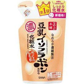 《常盤薬品》 SANA(サナ) なめらか本舗(保湿ライン) しっとり化粧水 NA(つめかえ用) 180ml