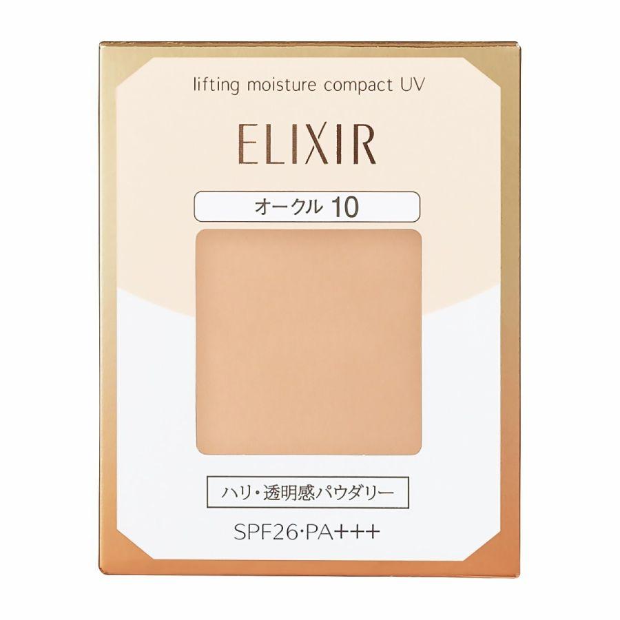 《資生堂》 エリクシール シュペリエル リフティングモイスチャーパクト UV オークル10 (レフィル) 9.2g