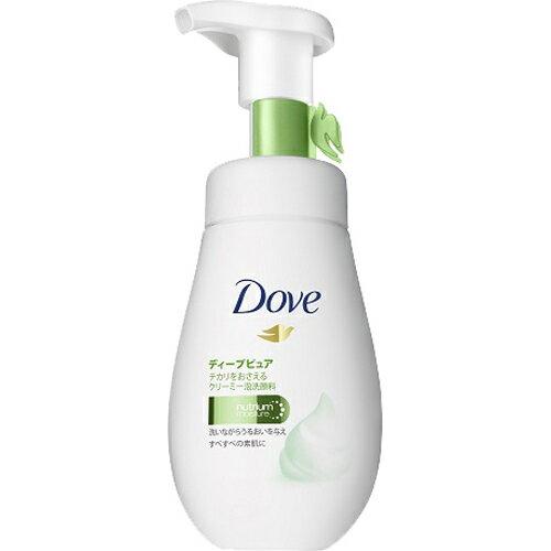 《ユニリーバ》 Dove ダヴ ディープピュア クリーミー泡洗顔料 (160mL)