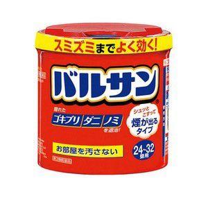 【第2類医薬品】《ライオン》 バルサン 24〜32畳用(80g) (くん煙剤)