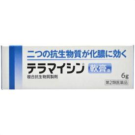 テラマイシン軟膏a 6g 第2類医薬品 メール便対応商品 代引不可