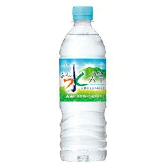 朝日饮料矿物水六甲可口的水 600 毫升 × 48 所述这