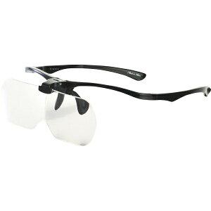 【本日楽天ポイント5倍相当】株式会社トライーアングルPR-01BK メガネ型ルーペ プレシス ブラック(1個)<レンズをは跳ね上げる事が出来るメガネタイプのルーペ>【ドラッグピュア楽天市