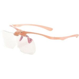 【本日楽天ポイント5倍相当】株式会社トライーアングルPR-01PK メガネ型ルーペ プレシス ピンク(1個)<レンズをは跳ね上げる事が出来るメガネタイプのルーペ>【ドラッグピュア楽天市場