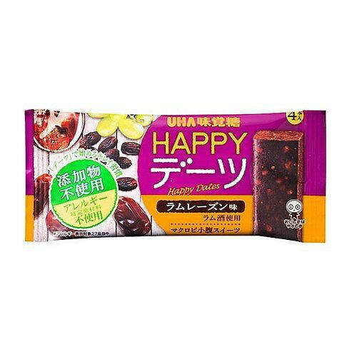 UHA味覚糖 味覚糖株式会社HAPPYデーツ ラムレーズン味(4本入)【ドラッグピュア楽天市場店】