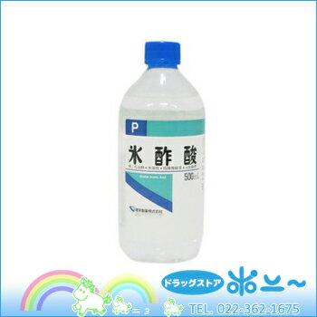 氷酢酸 P 500ml【建栄製薬】【4987286407876】