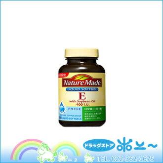 天生 ® 維生素 E 400IU 家庭規模 100 片 (大塚製藥)