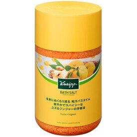 クナイプ バスソルト ユズ&ジンジャーの香り 850g【KNEIPP】【4580294850766】【納期:10日程度】